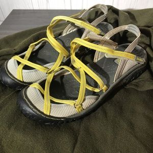 Jambu All Terra Design walking/shoe yellow straps